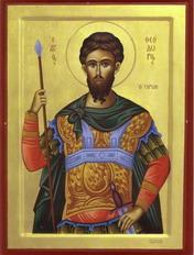 القديس ثيودوروس التيروني